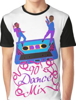 90's Dance Mix  Graphic T-Shirt