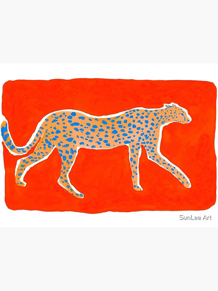 Leopard Orange by sunleeart