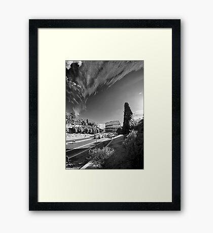 Via dei Fori Imperiali - Roma Framed Print