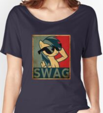 Rainbow Dash Swag Women's Relaxed Fit T-Shirt