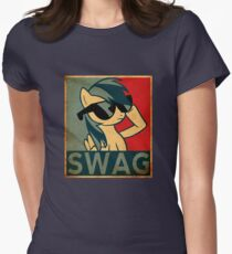 Rainbow Dash Swag Women's Fitted T-Shirt