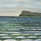 Memories of Ireland a seascape by Samuel Ruth