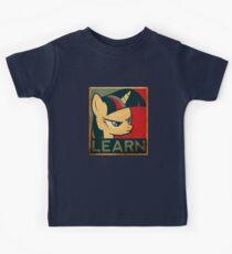Learn - Twilight Sparkle Kids Tee