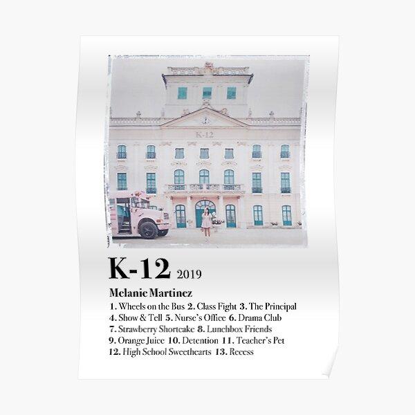 K-12 Movie Poster Poster