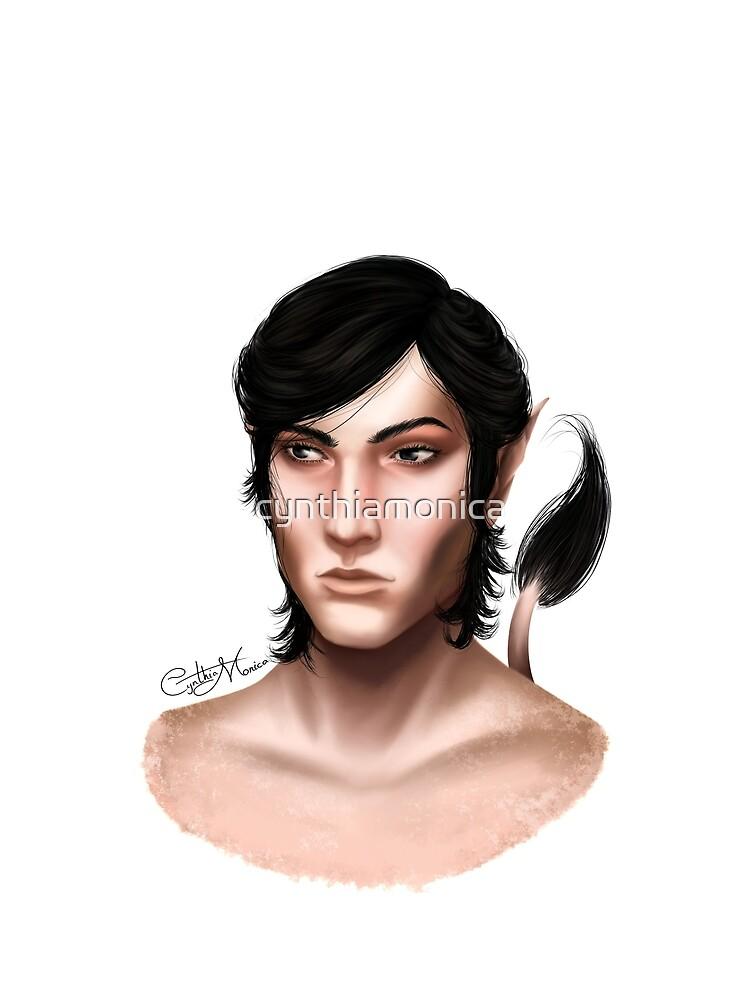 Portrait - Cardan Greenbriar by cynthiamonica