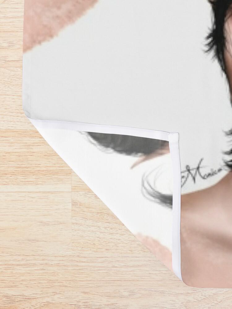 Alternate view of Portrait - Cardan Greenbriar Shower Curtain