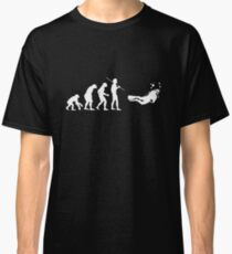 Evolution to Scuba Diver WHITE Classic T-Shirt