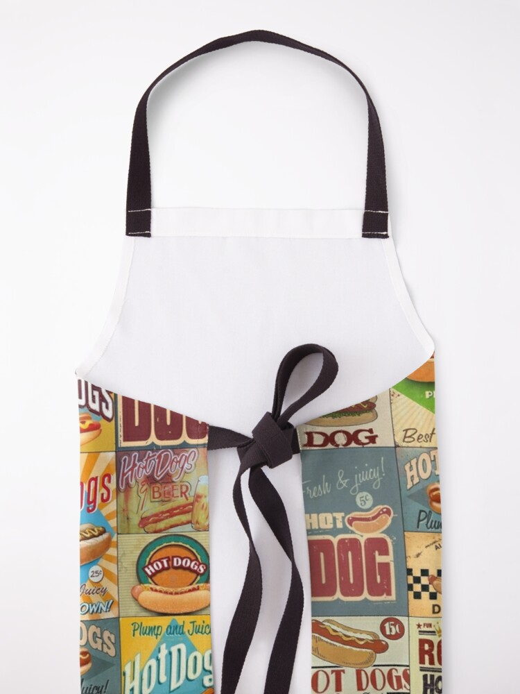 Alternate view of Hot Dogs Apron