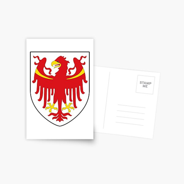 Coat of Arms of South Tyrol  Postcard