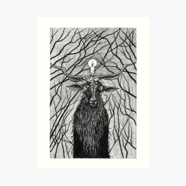 The Old Goat God Art Print