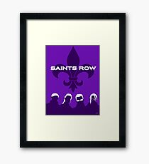 3rd Street Saints Framed Print