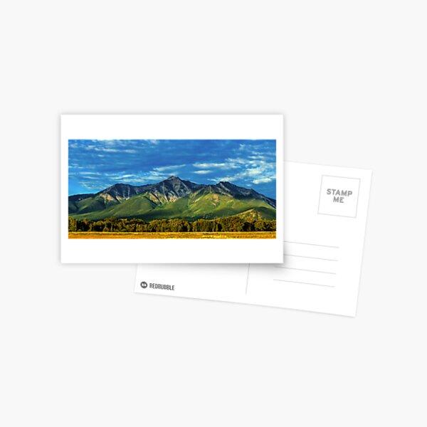Mount Princeton Summer Sunset Postcard