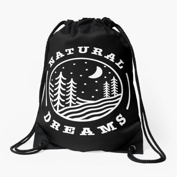 Natural dreams Drawstring Bag