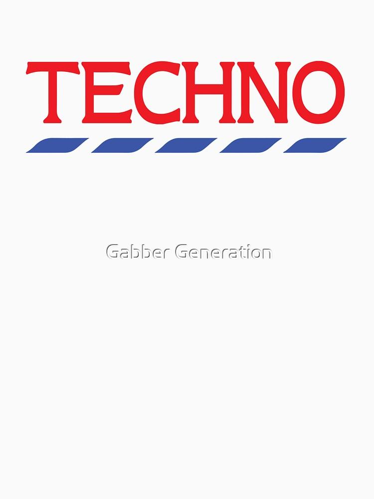 Techno Tesco T-Shirt by UnicornGen
