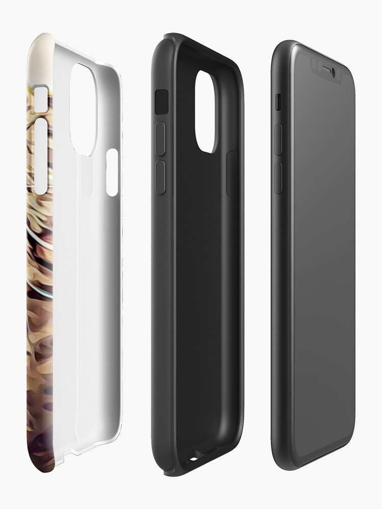 Alternate view of Wild Thing Tabby Cat Art iPhone Case & Cover