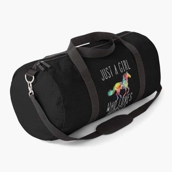 Just A Girl Who Loves Horses  Duffle Bag