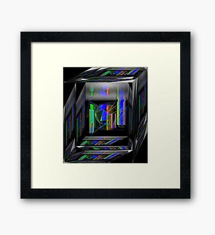 Inside the House Framed Print