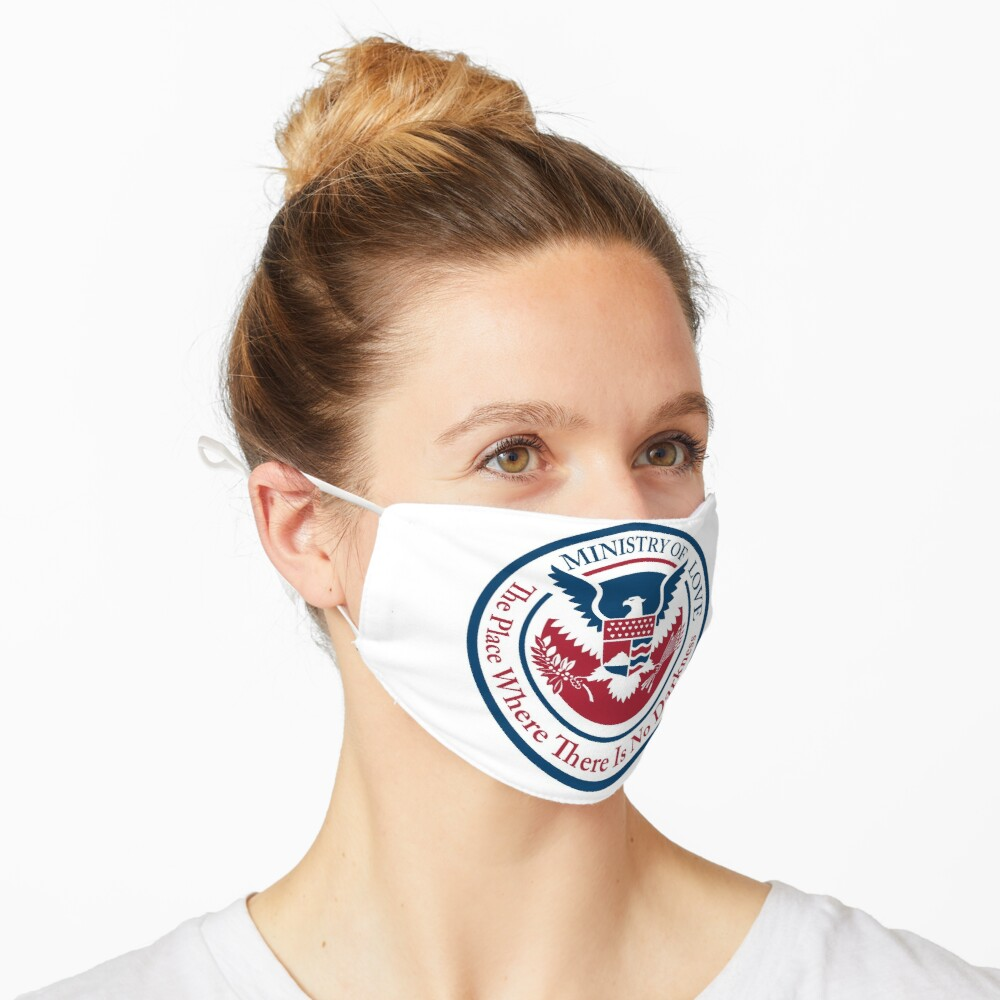 ministry of love, official seal Mask