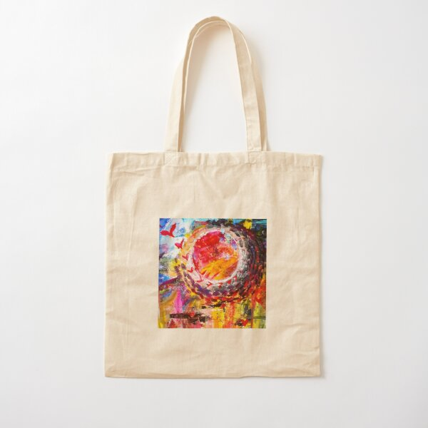 Abstract flying love  Cotton Tote Bag