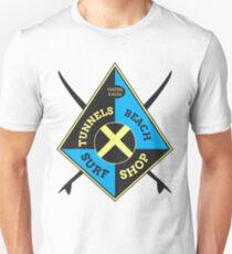 Tunnels Beach Surf Shop Unisex T-Shirt