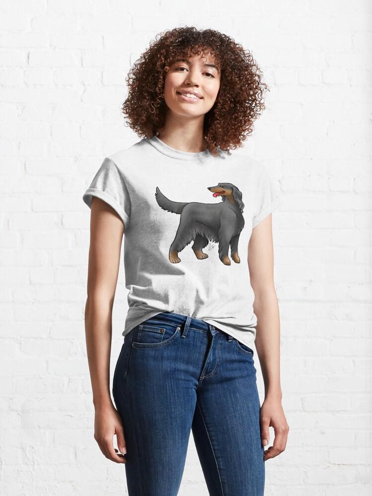 Alternate view of Irish Setter - Black and Tan Classic T-Shirt