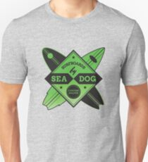 Surfboards By Sea Dog Unisex T-Shirt