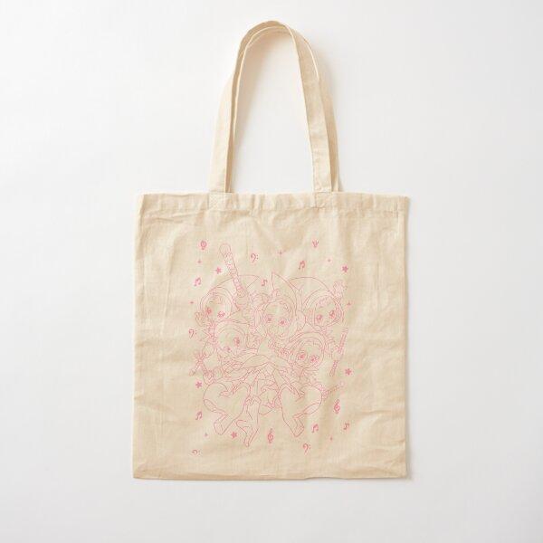 Ojamajo Doremi rosa Bolsa de algodón