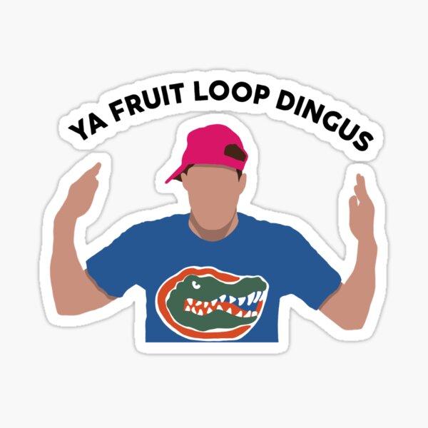 big brother zach fruit loop dingus Sticker