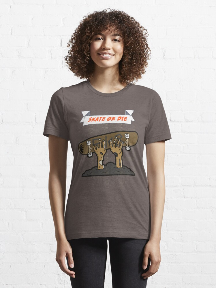 Alternate view of Skate or Die T-shirt Essential T-Shirt