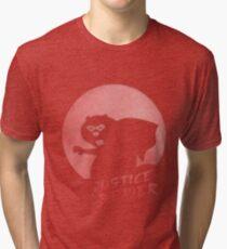 Justice Beaver Tri-blend T-Shirt