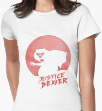 Justice Beaver Women's Fitted T-Shirt