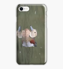 Ringed Teal iPhone Case/Skin