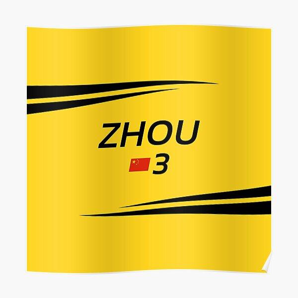 F2 2020 - #3 Zhou [yellow version] Poster