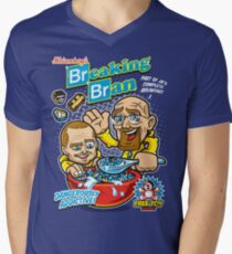 Breaking Bran Men's V-Neck T-Shirt