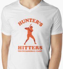 Hunter's Hitters (Orange Version) Men's V-Neck T-Shirt