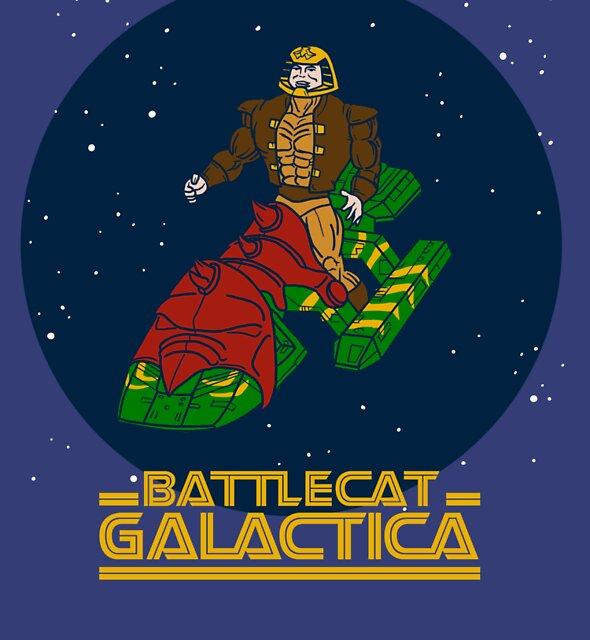 Battlecat Galactica by sausagechowder