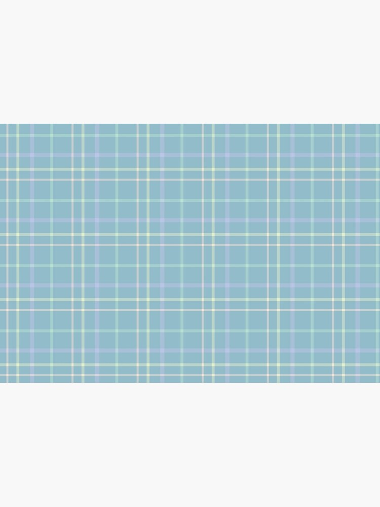 Modern Pastel Plaid Pattern by abbycabibbo