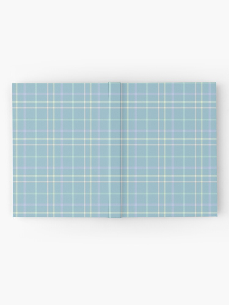 Alternate view of Modern Pastel Plaid Pattern Hardcover Journal