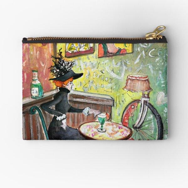 The Lautrec Girl In A Ruin Bar In Budapest Zipper Pouch