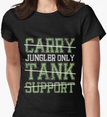 League Of Legends : Jungler Only shirt Women's Fitted T-Shirt