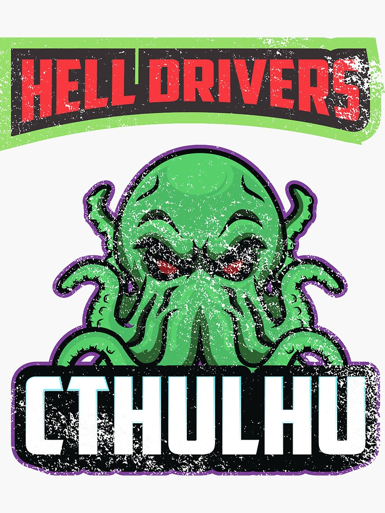 Hell Driver Cthulhu by 55hoser