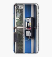 Remember the Pay Phone? Retro Phone iPhone Case/Skin