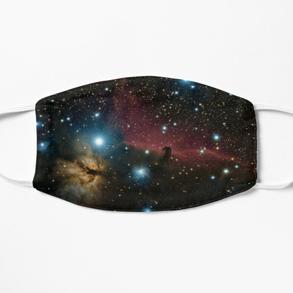 Glitter Star Galaxy  Flat Mask