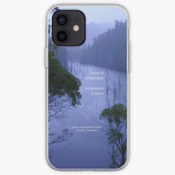 Evening over Lake Cethana at Dorje Ling Retreat Centre iPhone Soft Case
