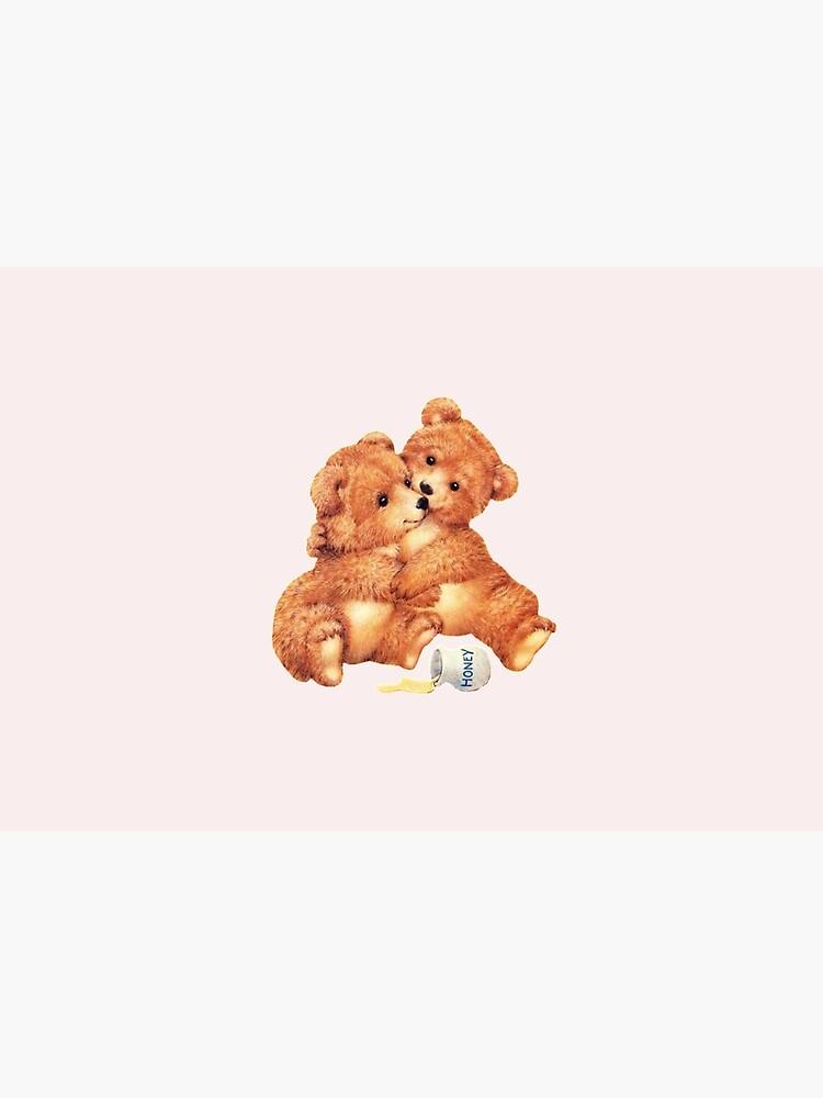 Cute cottage core cottagecore twin bears bear kawaii lolita loli vintage 50s 60s 70s retro creepy camp by lunar0000