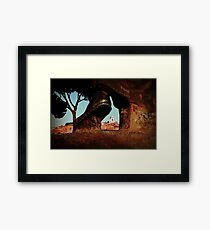 Seeing Rome Wearing Italian Shoes Framed Print