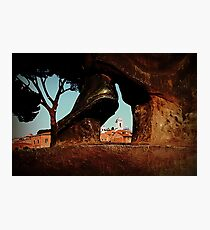 Seeing Rome Wearing Italian Shoes Photographic Print