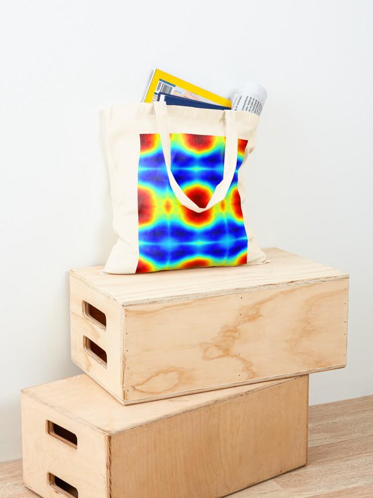 Alternate view of Colors Circle Tote Bag