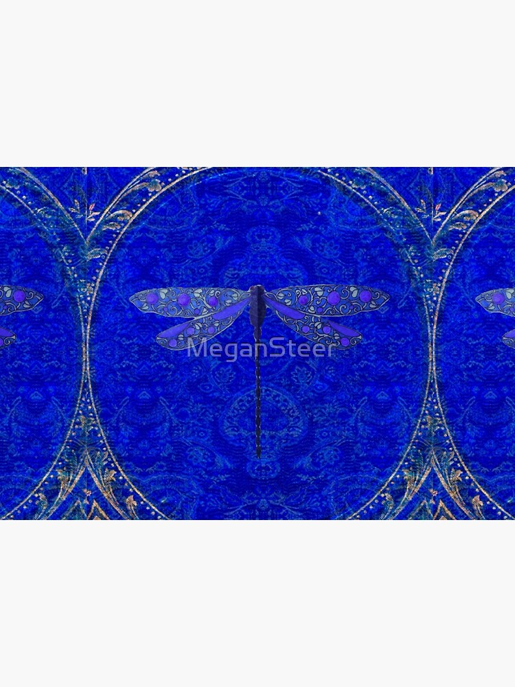 Victorian Dragonfly in Blue by MeganSteer