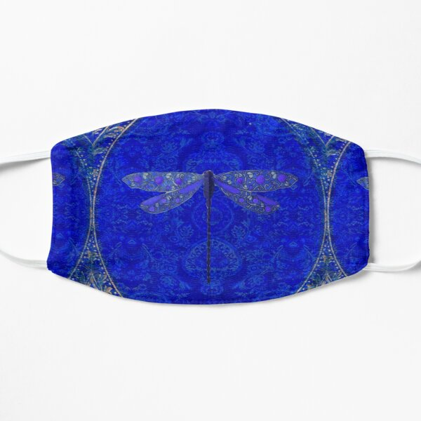 Victorian Dragonfly in Blue Mask